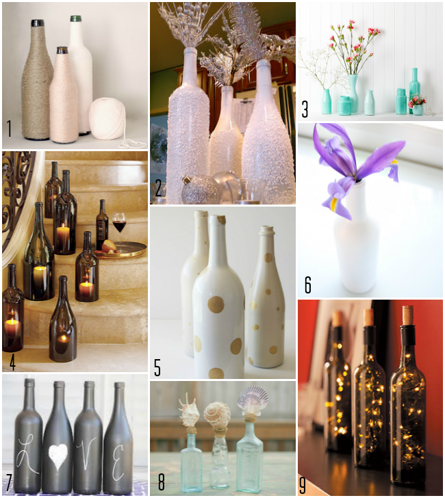 diy bottle centerpieces gorgeous wedding decorations that you can design and put together. Black Bedroom Furniture Sets. Home Design Ideas