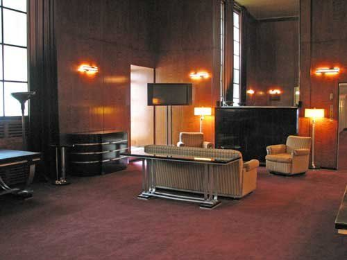 Private apartment of samuel lionel roxy rothafel radio city music hall by