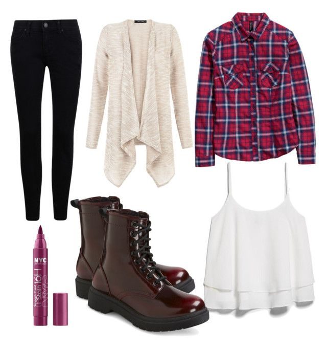 """Fall outfit #2"" by ofekpreisfl5 on Polyvore featuring MANGO, H&M and Mossimo"