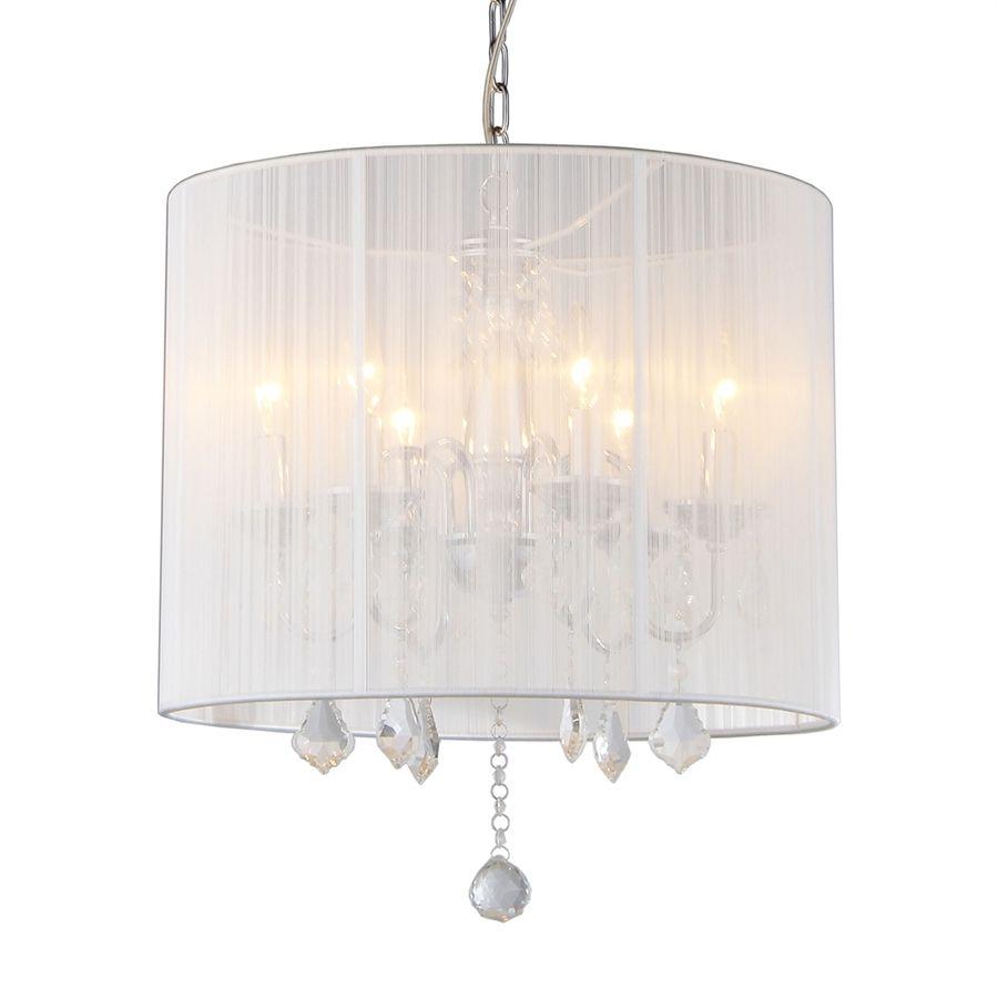 image vintage drum pendant lighting. Modren Lighting Warehouse Of Tiffany 185in 6Light Chrome Vintage Drum Chandelier On Image Pendant Lighting L