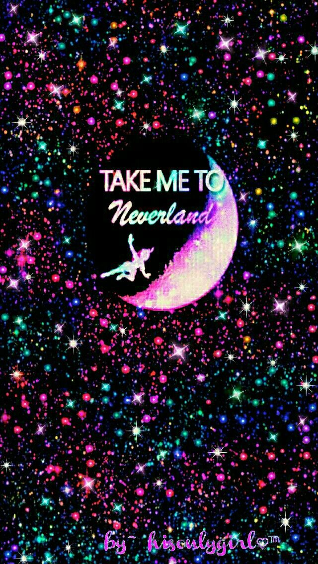 Neverland Galaxy Wallpaper I Created For The App Cocoppa