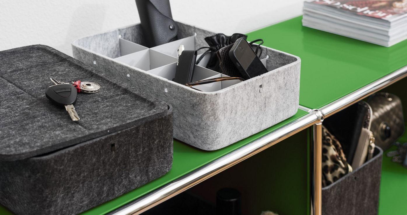 usm haller ladekabel einfach ordnung aufbewahrungsboxen mit deckel legostein modulare