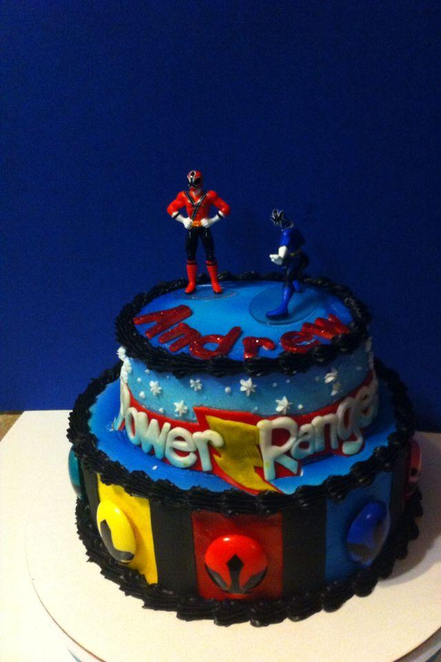 Pleasant Power Rangers Cake By Helloocakessbyashley With Images Power Personalised Birthday Cards Veneteletsinfo