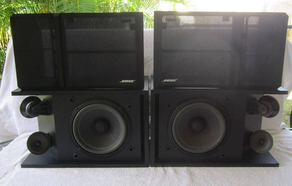 Bose 301 Series III Direct / Reflecting Speakers Black Cabinets #Bose