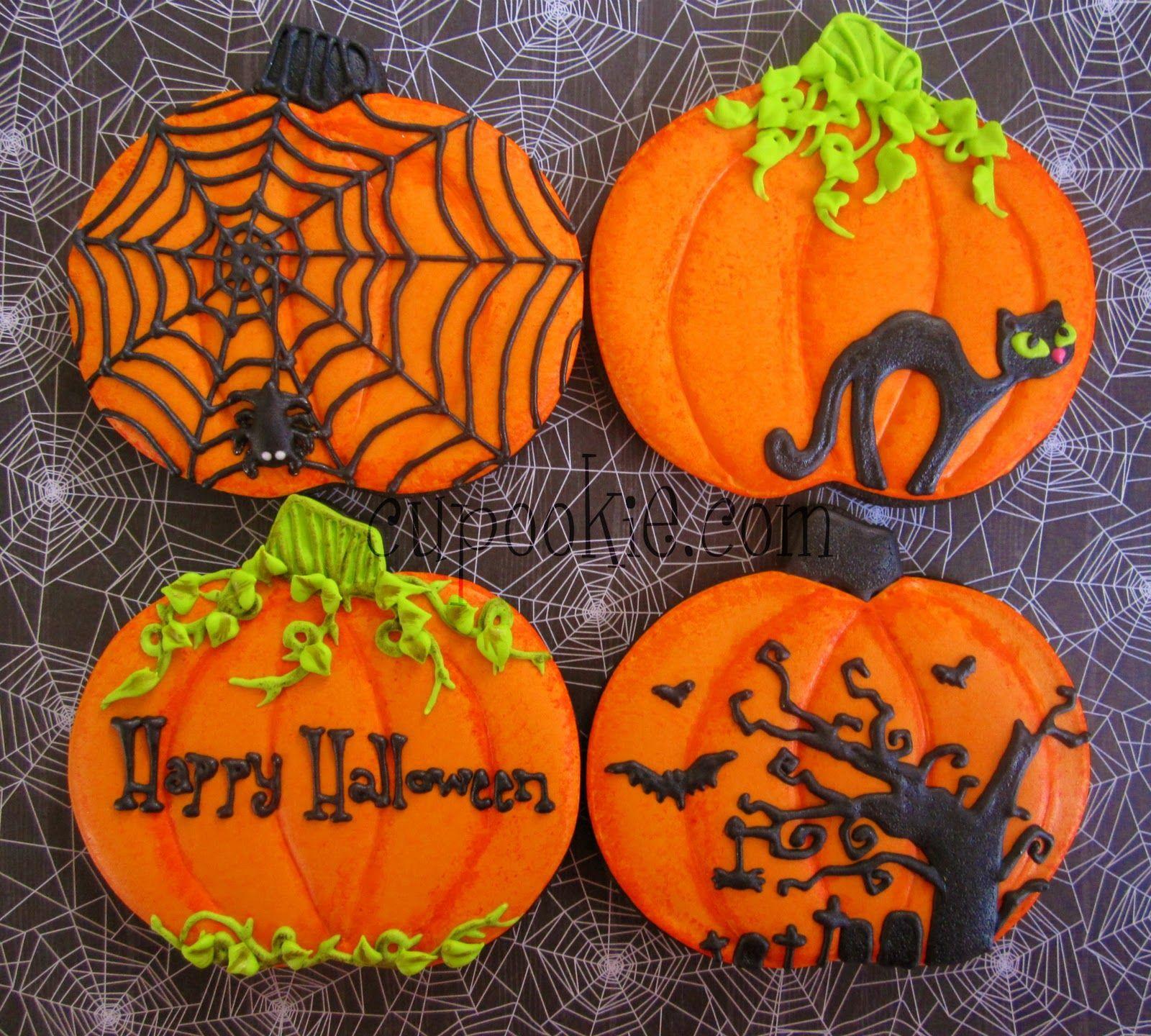 #halloweencookiesdecorated
