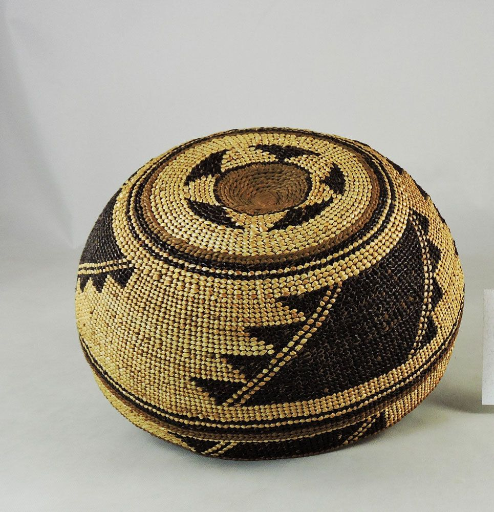 543bbb75d26 A girl s hat woven by the Yurok or Hupa tribes of northern California