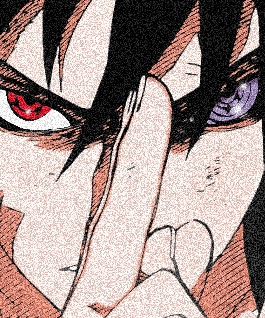 Uchiha Sasuke With Sharingan And Rinnegan Sasuke Shippuden