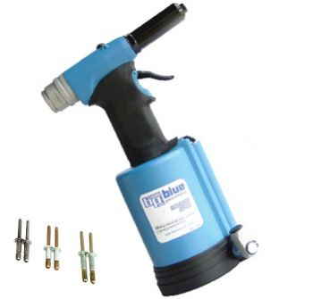 This One Is Loaded With Pulling Force At 3800lbs This Is A Heavy Duty Air Hydraulic Riveter Big Blue Sets Rivets From Riveting Tools Tool Sets Metal Workshop