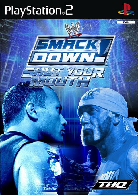 Wwe Smackdown Shut Your Mouth Classic Video Games Ps2 Games