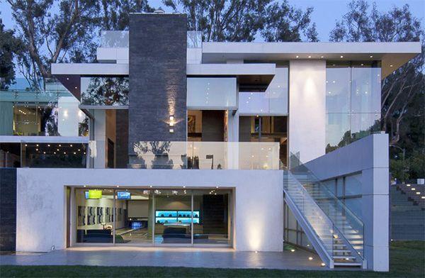 Building An Ultra Modern House