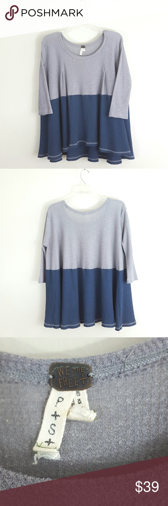 Free People We The Free Flowy Thermal Swing Top Size small. We The Free by f17665841