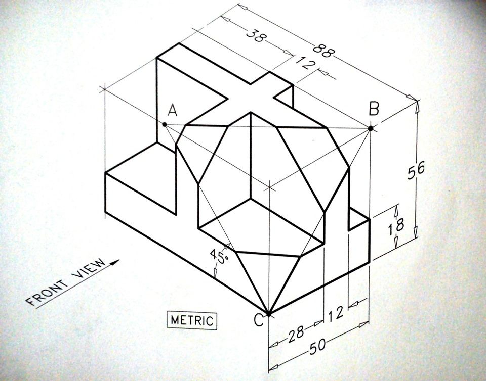 Solidworks Tutorial Advanced Isometric Drawing Isometric Drawing