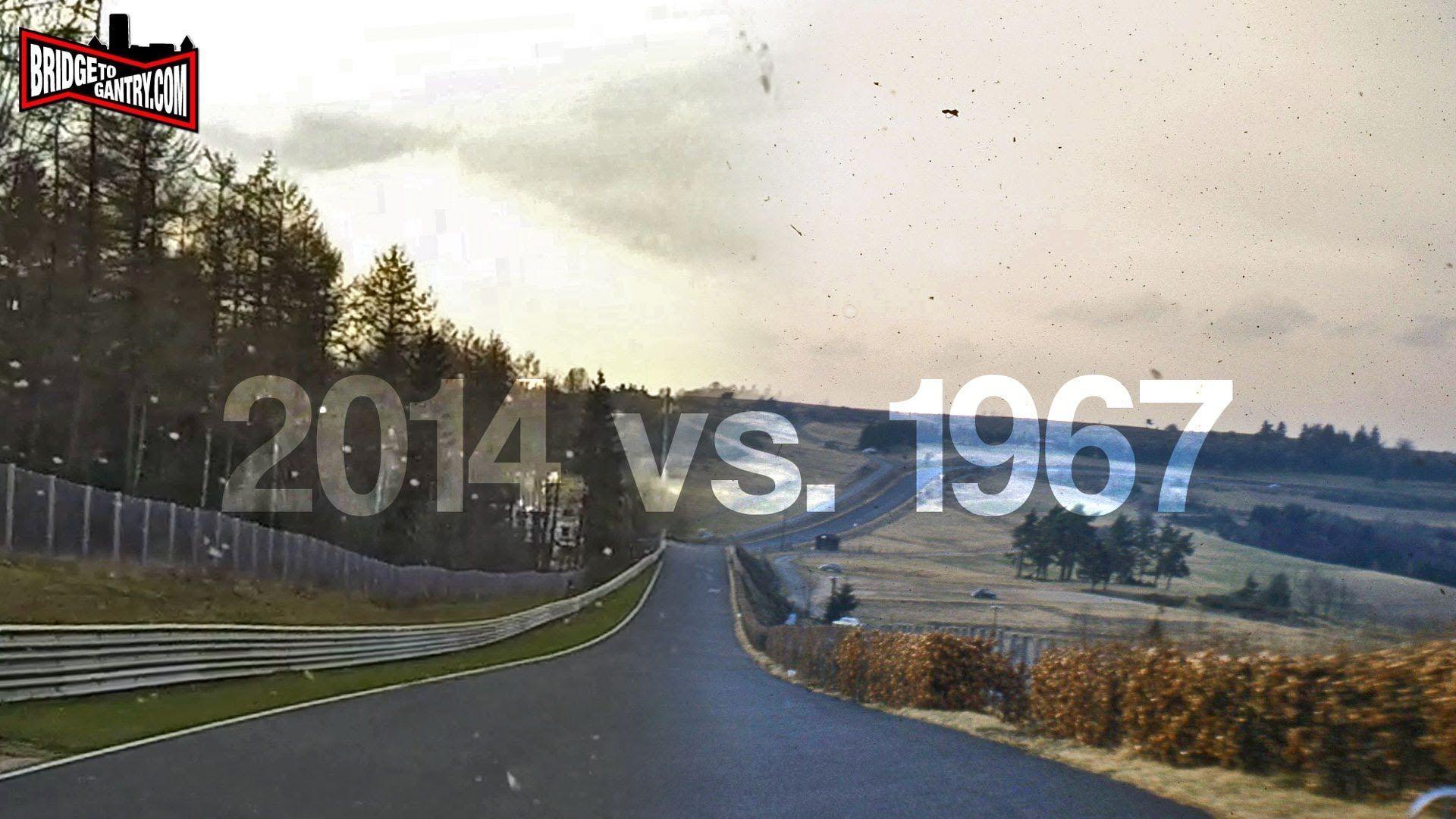 n rburgring nordschleife 1967 vs 2014 tracks racing formula 1 rh pinterest com