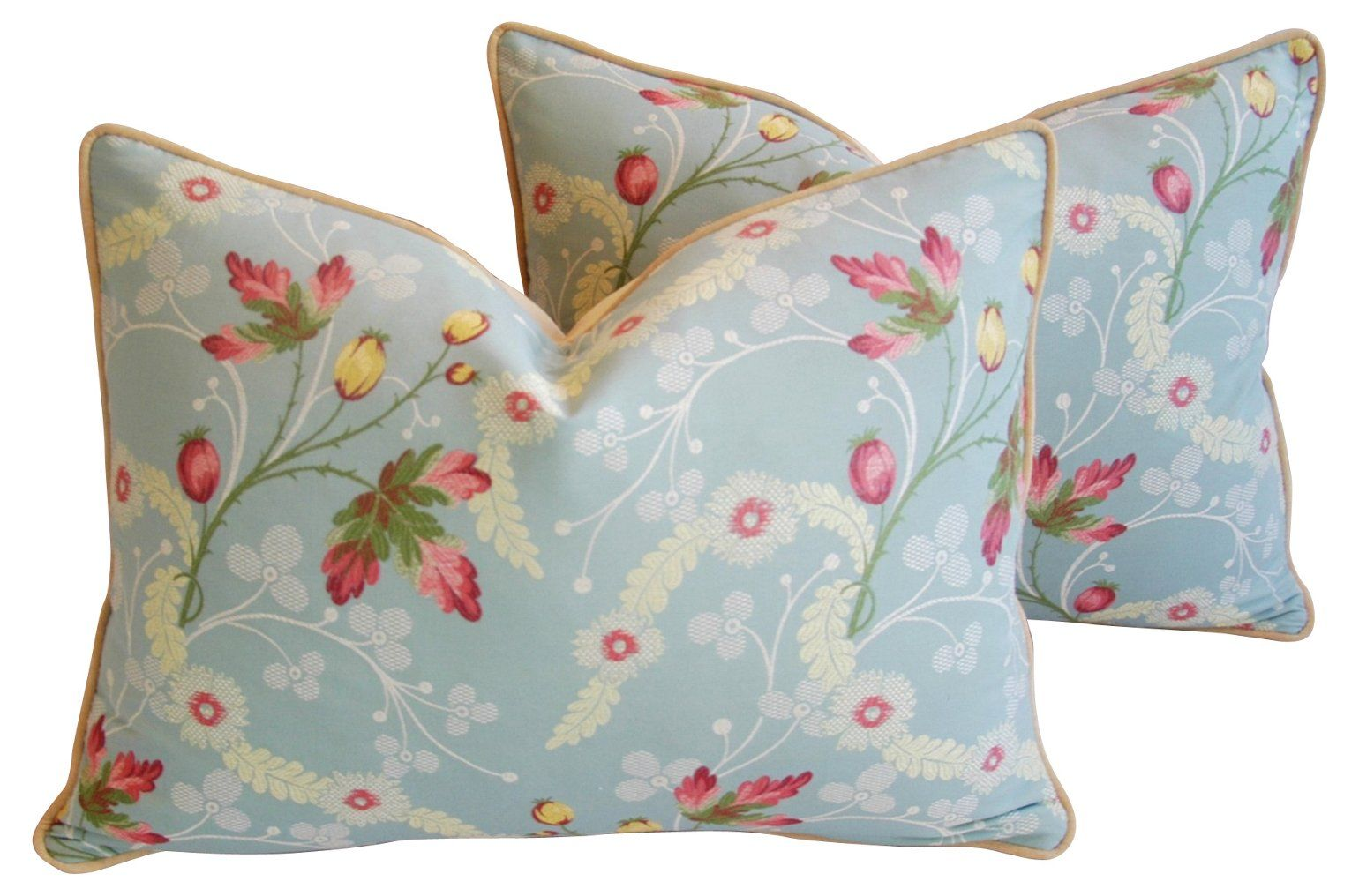 Scalamandr¨¦ Floral Brocade Pillows, Pr - Mike Seratt - Top Vintage Dealers - Vintage  One Kings Lane #Pillows#Pr#Mike