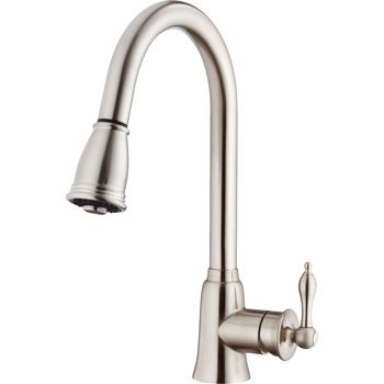 Costco: H C waterware Burgundy™ Single Handle Pull-Down Stainless ...