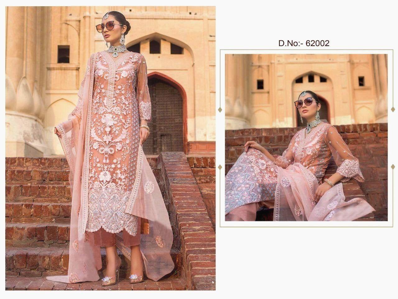 Pakistani indian maria b designer suit shalwar kameez latest clothes party wear stitched suit