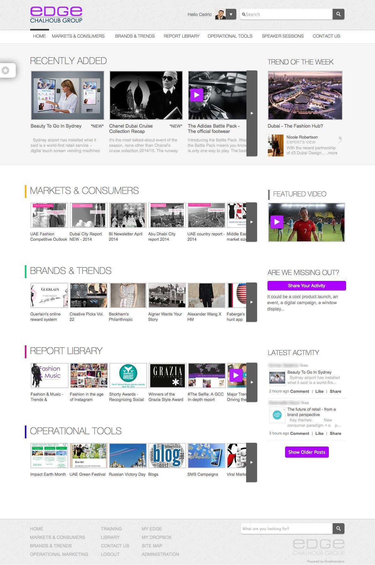 Edge: Chalhoub\'s Cutting Edge Intranet – Digital Workplace Group ...