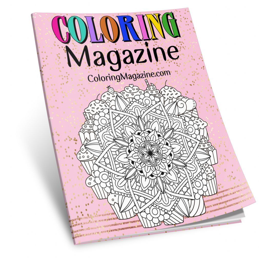 Coloring Magazine Printable Coloring Book For Adults Coloring Pages Printable Coloring Book Printable Coloring Coloring Pages