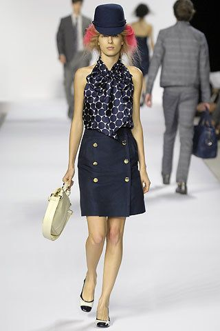 Marc by Marc Jacobs Spring 2008 Ready-to-Wear Fashion Show - Ekat Kiseleva