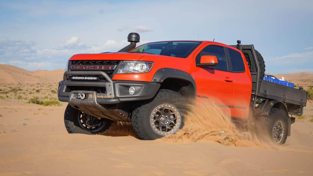 Chevy Colorado Zr2 Bison Tray Bed Concept Photo Gallery Chevy