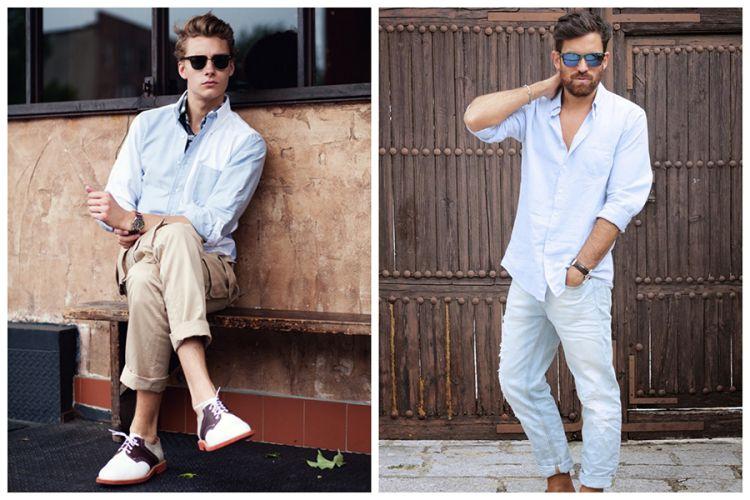 Patterns, Men Tropical Fashion, blue pants, blue shirt, men's fashion