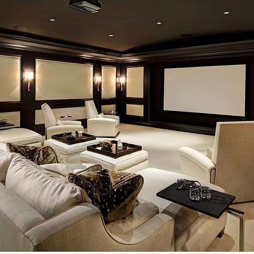 Home Theater Design Ideas Diy: House Design Ideas 2019 #design #house