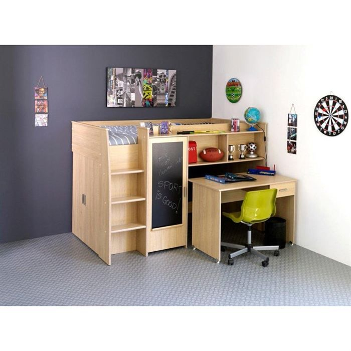bureau enfant cdiscount cheap bureau worky bureau enfant en acier laqu poxy noir uua with. Black Bedroom Furniture Sets. Home Design Ideas