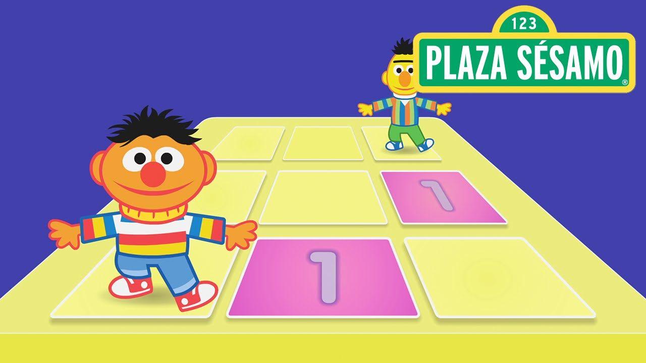 Plaza Sésamo Beto Y Enrique Y El Baile Del Número 1 Plaza Sesamo Beto Plaza Sesamo Beto Y Enrique