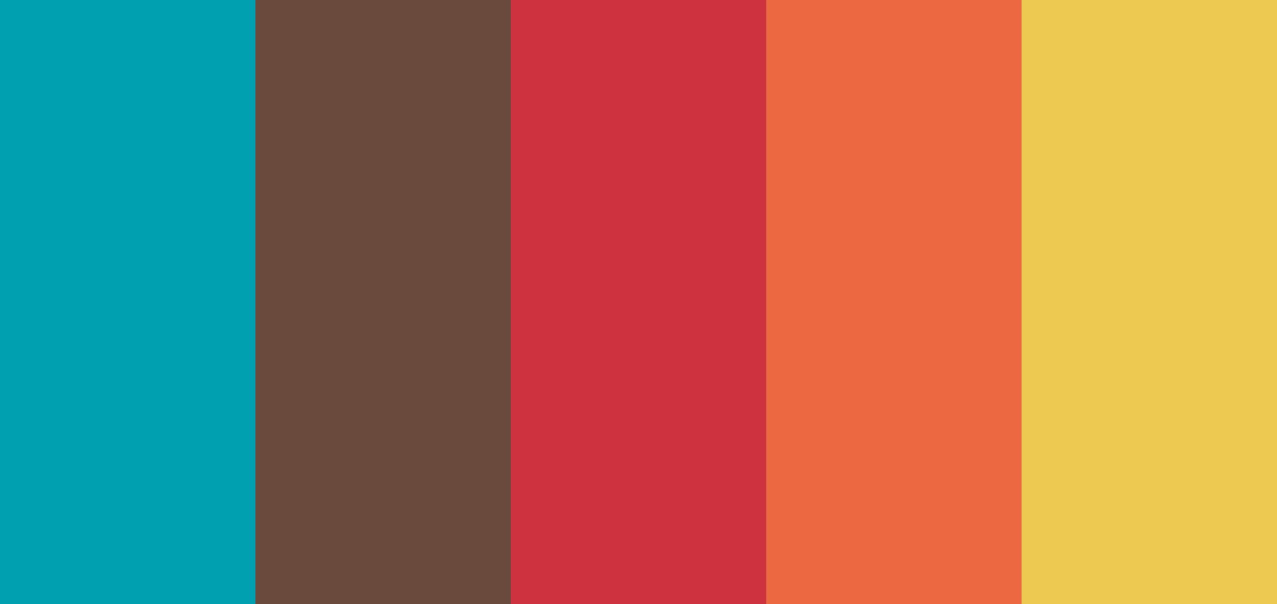 Color Ideas Retro Color Color Mixing Color Pallets
