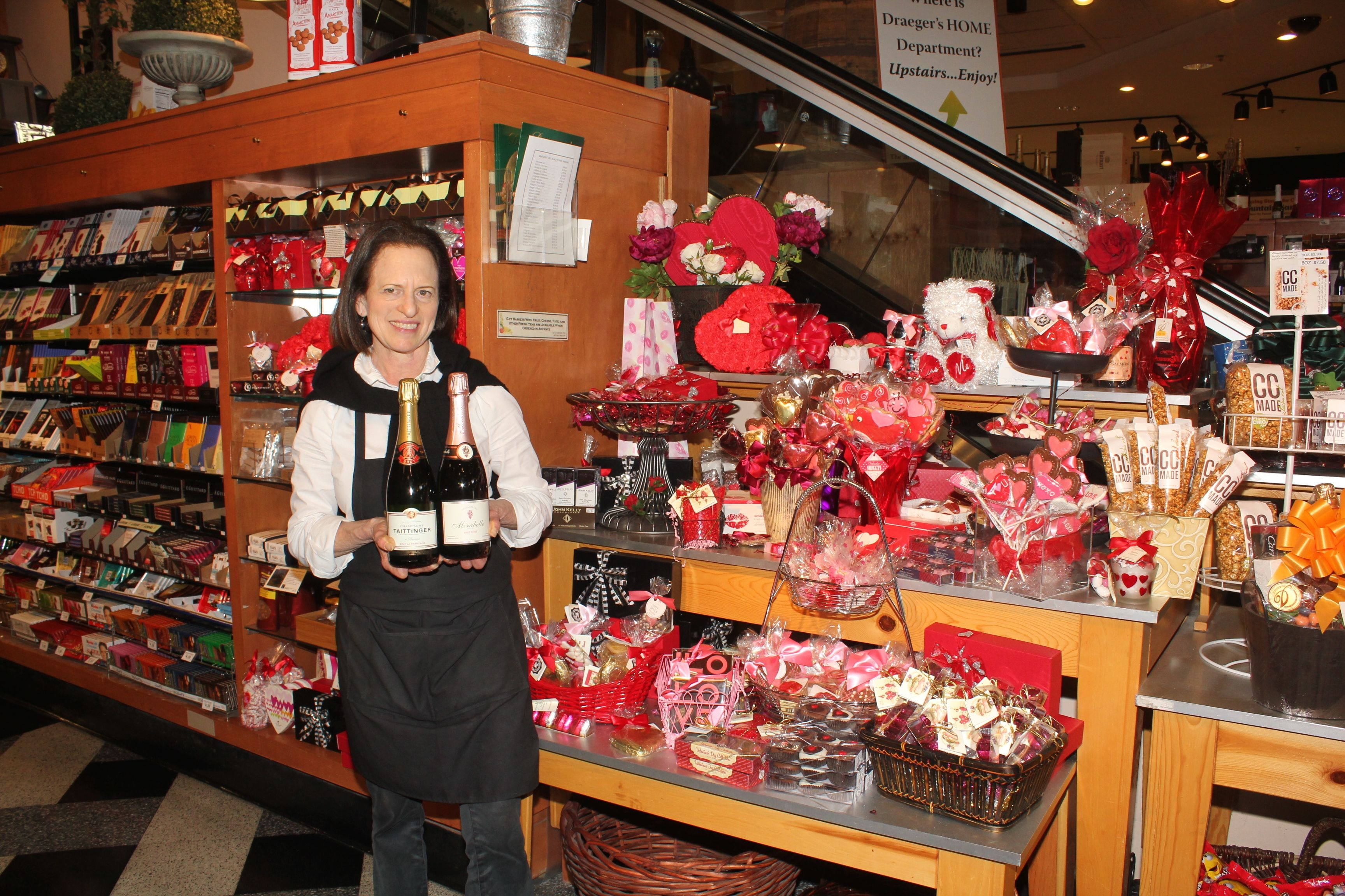 Alexandria Our Candy Buyer At Draeger S San Mateo Has Been Hard At Work Selecting Gorgeous And Of Course Romantic Assortments Fo Sparklers Say Hi Valentines