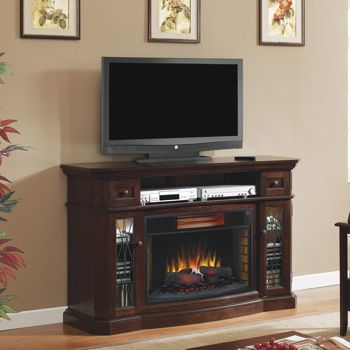 twin star media mantel fireplace with infrared quartz heater and a second one for office