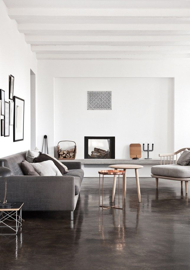 Une maison blanche et grise au Danemark Home Sweet Home