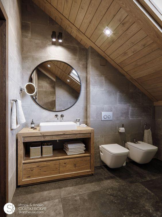 Bagno rustico come realizzarne uno da copertina bagno for Arredo bagno rustico