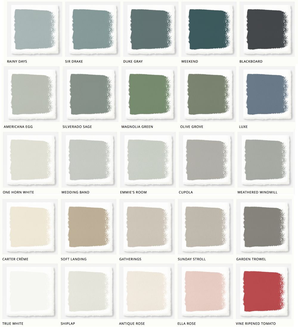 Magnolia home paint joanna gaines releases new paint collection magnolia wedding and walls - Exterior paint colors ideas pictures collection ...