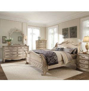Empire II Parchment Collection | Master Bedroom | Bedrooms | Art Van ...