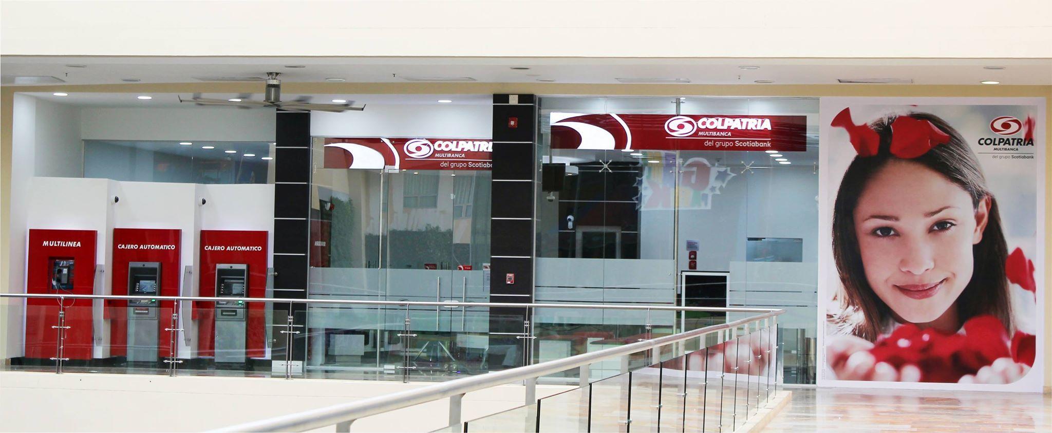 Banco #Colpatria te invita a conocer su nueva oficina ubicada en el local 212-213 en #Alamedas Centro Comercial #SiempreContigo