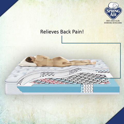 Four Seasons Mattress Relieves Back Pain With Its Soft Yet Firm Supportive Bounciness