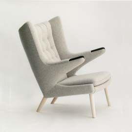 Teddy Bear Chair By Hans J. Wegner