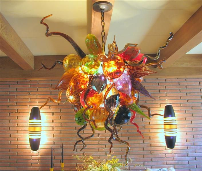 Design Art Blown Glass Lighting