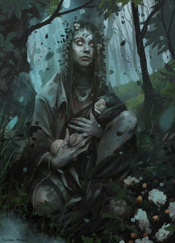 Kikimora Thomas Frank On Artstation At Https Www Artstation Com Artwork Do02dx Art Fantasy Art Dark Fantasy Art