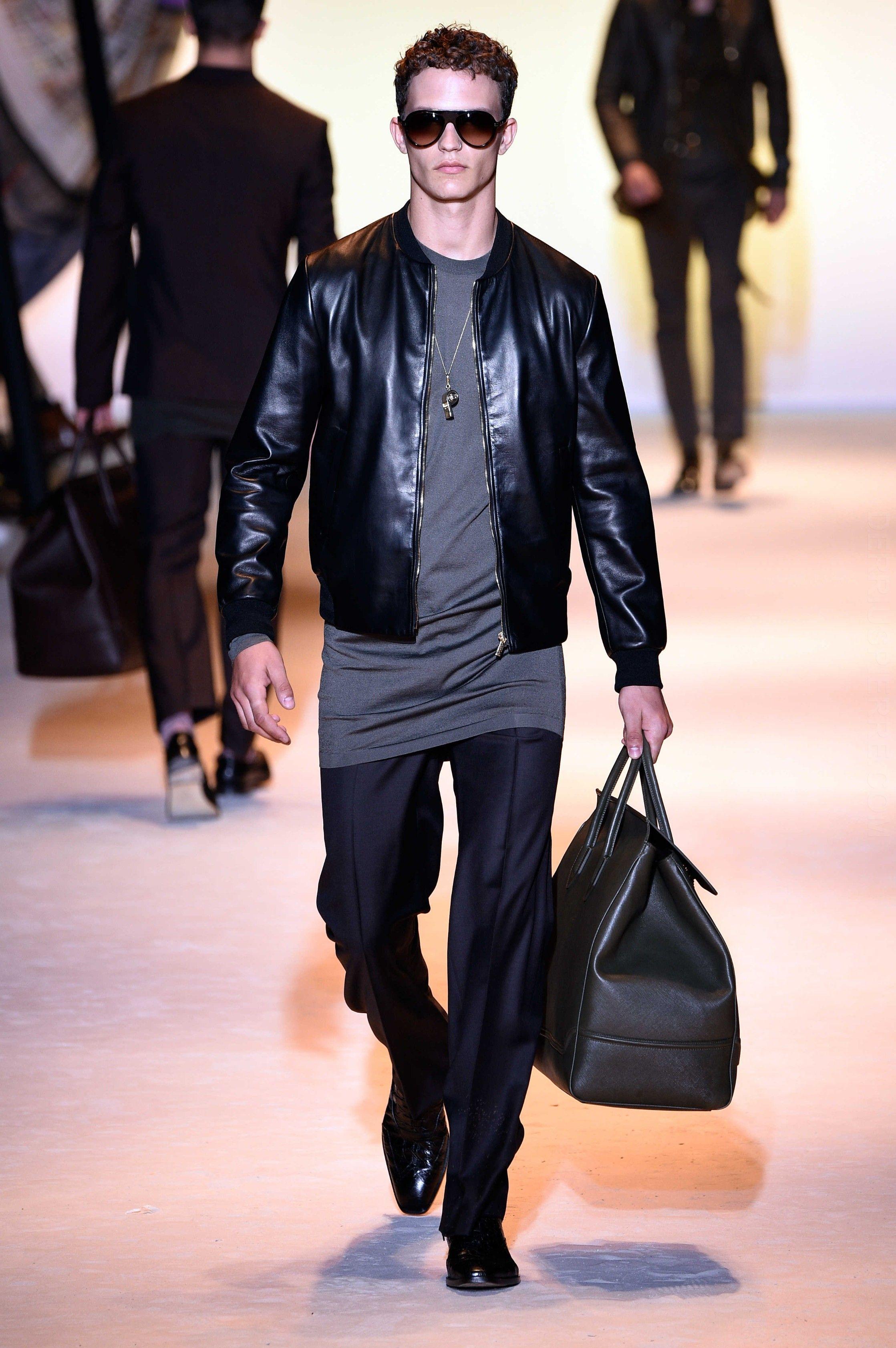 Versace Spring Summer 2016 Primavera Verano Collection - #Menswear #Trends #Tendencias #Moda Hombre Milan Fashion Week - D.P.