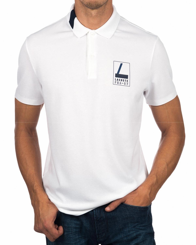 a800f4c183e LACOSTE © White Polo Shirt Fra - 27