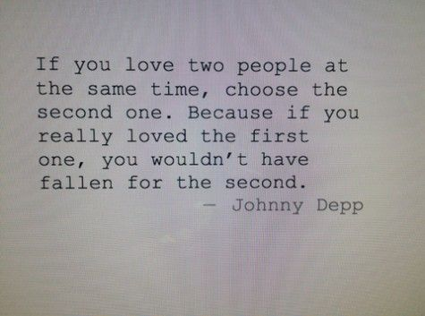 Johnny Depp says