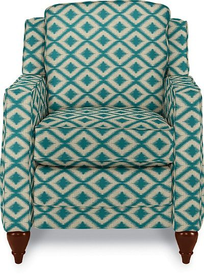 La-Z-Boyu0027s recliner chairs add comfort and style to any room. Kick back and relax with the original recliners that never go out of style. & Pinnacle Reclina-Rocker® Recliner by La-Z-Boy color turquoise ... islam-shia.org