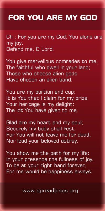 Lyrics of christian devotional songs