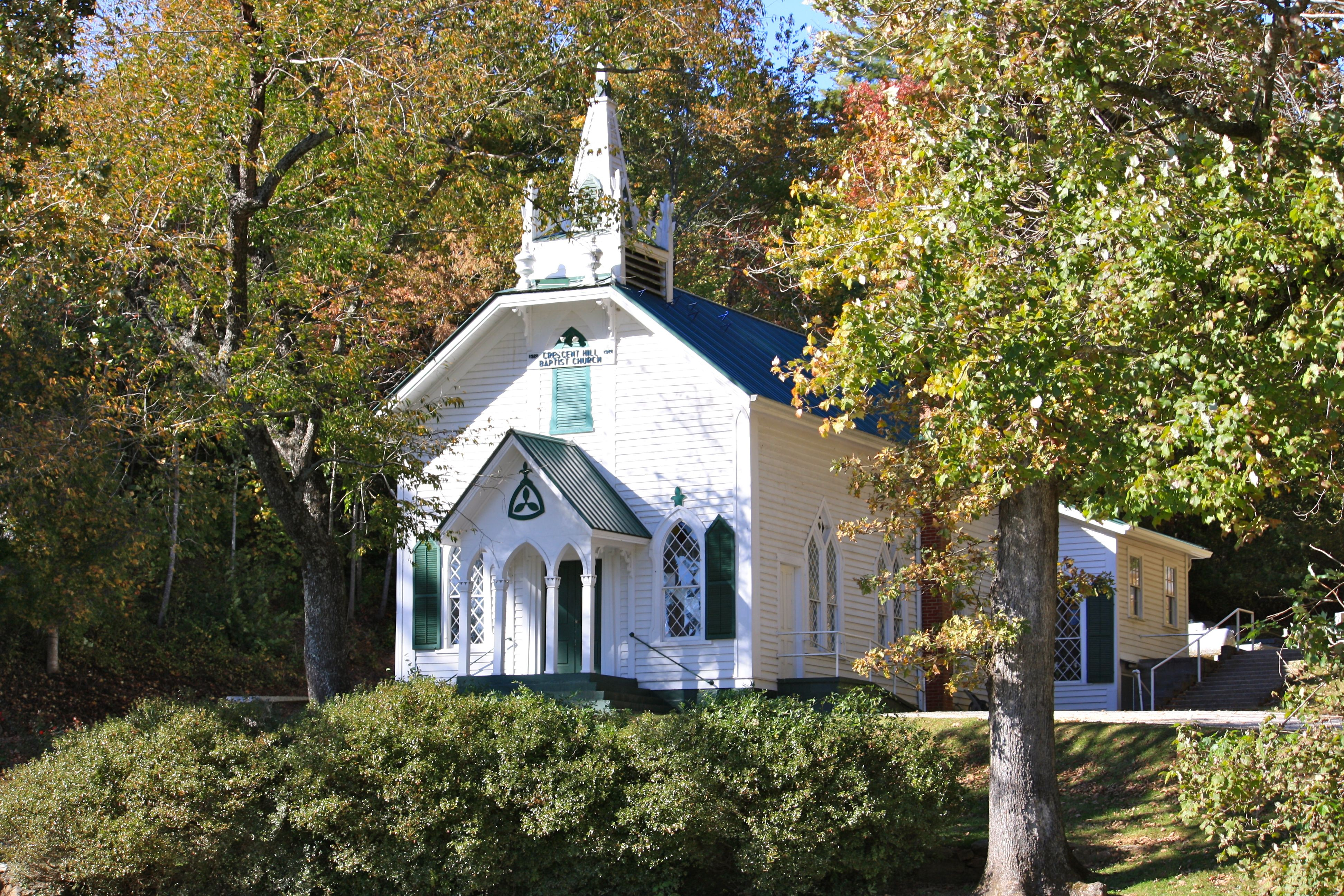Crescent Hill Baptist Church Near Helen Ga Sautee