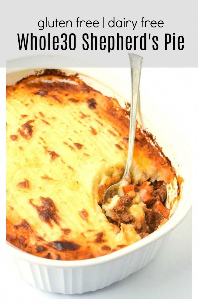 Whole30 Shepherd's Pie (Paleo Gluten Free) • Tastythin
