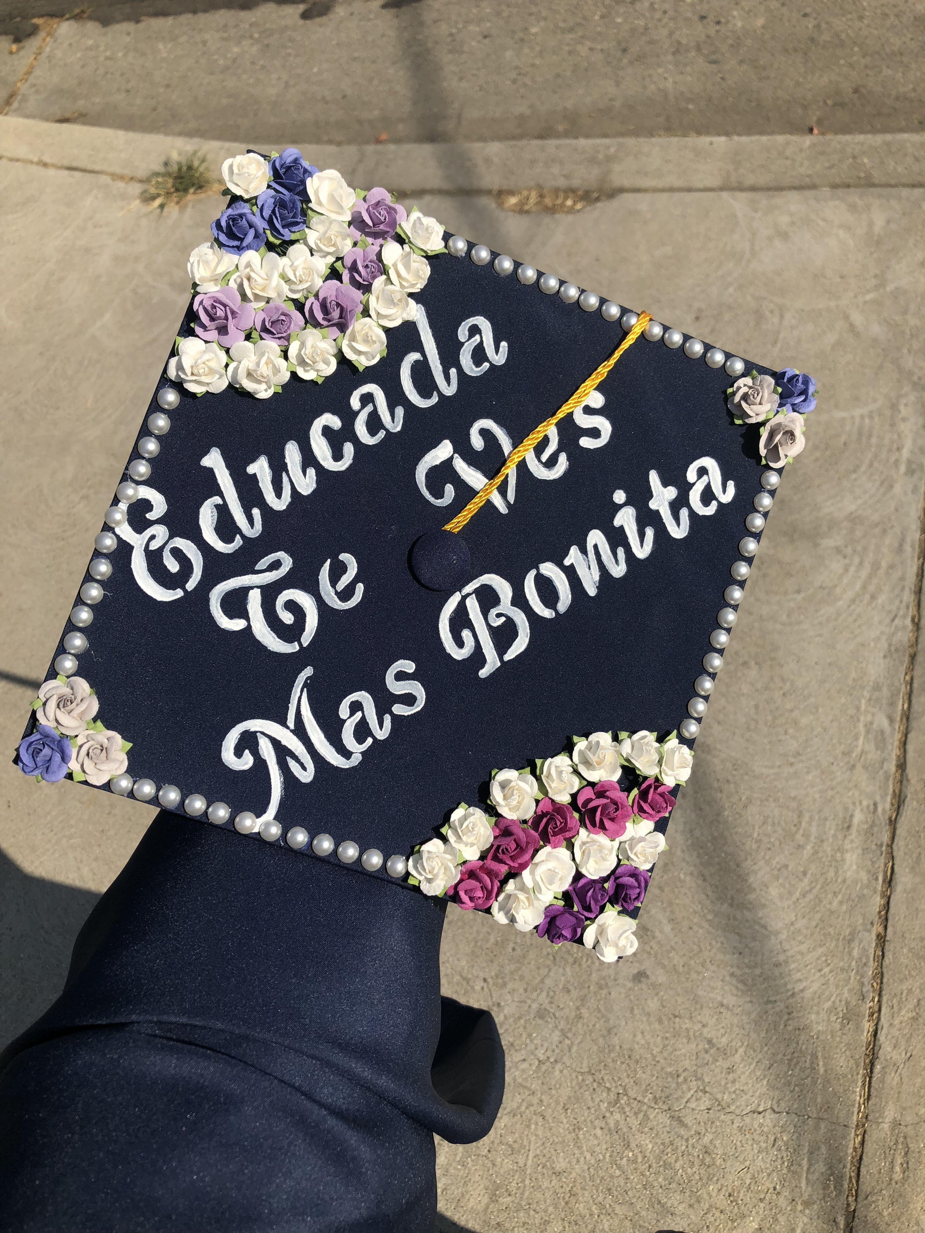 Graduation Cap Spanish College Graduation Cap Decoration Teacher Graduation Cap Graduation Cap Decoration