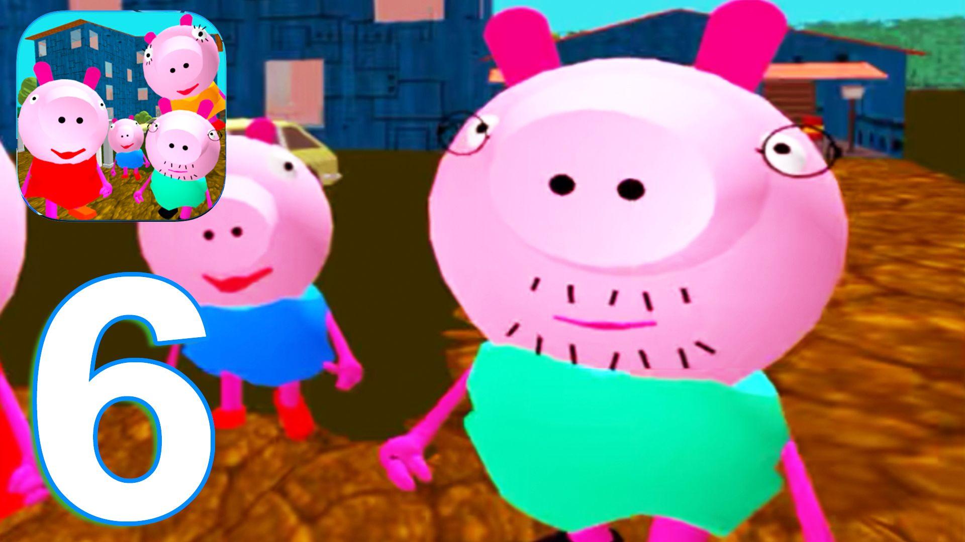 Piggy Neighbor Family Escape Obby House 3d Gameplay Walkthrough Part 6 Level 6 Ios Android Piggy Gameplay Minions