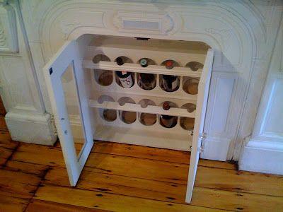 Fireplace Storage home improvement | mid-century rooms | pinterest | wine storage